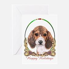 Beagle Dog Holiday Greeting Cards (Pk of 10)