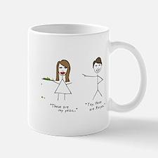 Funny Awesome stick figure Mug