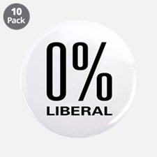"""0% Liberal 3.5"""" Button (10 pack)"""