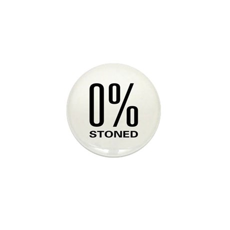 0% Stoned Mini Button (10 pack)