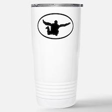 Skydiving Stainless Steel Travel Mug