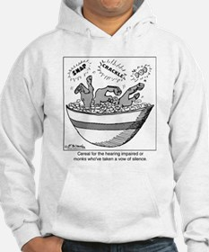 Cereal for the Deaf Hoodie