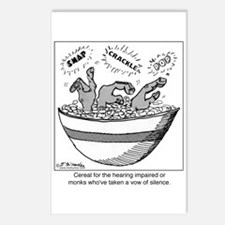 Cereal for the Deaf Postcards (Package of 8)