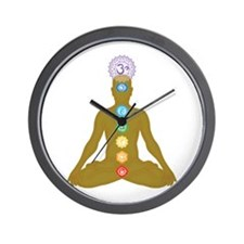 Chakra's in ascending order Wall Clock