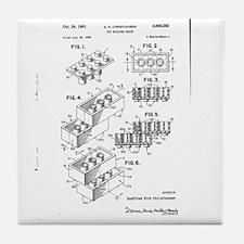 Lego Patent Tile Coaster