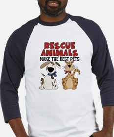 Rescue Animals Baseball Jersey