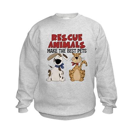 Rescue Animals Kids Sweatshirt