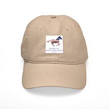 American Miniature Horse Flag Baseball Cap