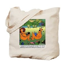 Eat the Delivery Man Tote Bag