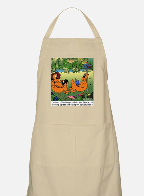 Eat the Delivery Man BBQ Apron