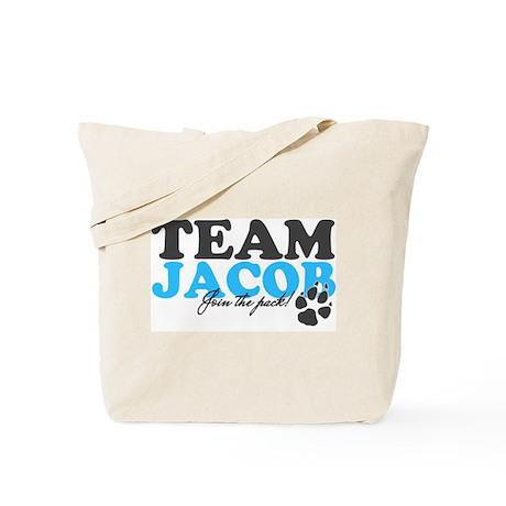 TEAM JACOB.. Tote Bag