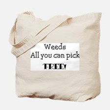 Cool Weeds Tote Bag