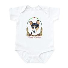 Basenji Holiday Infant Creeper
