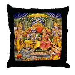 Lakshmana Throw Pillow