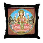 Lakshmi Throw Pillow