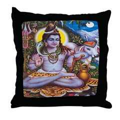 Shiva Throw Pillow