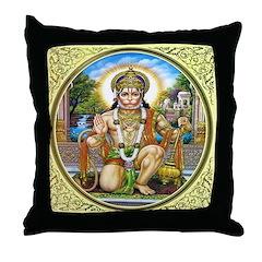 Hanuman Throw Pillow
