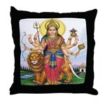 Bhagwati Throw Pillow