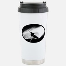 Water Skiing Stainless Steel Travel Mug