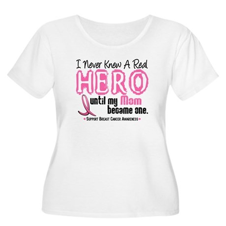 Never Knew A Hero 4 PINK (Mom) Women's Plus Size S