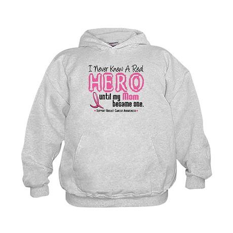 Never Knew A Hero 4 PINK (Mom) Kids Hoodie