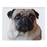 Snug Pugs Wall Calendar