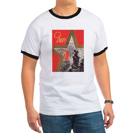 May 9th Victory Day CCCP Ringer T