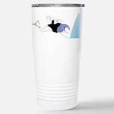 Slalom Skier Travel Mug