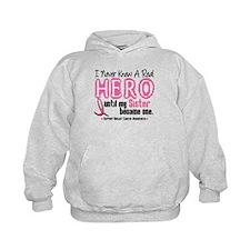 Never Knew A Hero 4 PINK (Sister) Hoodie
