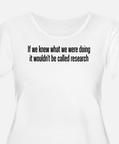They call it research T-Shirt