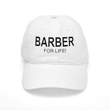 Barber For Life Baseball Cap