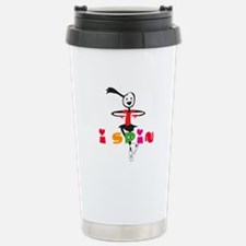 Figure Skating Thermos Mug