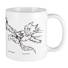 Soccer cat Mug