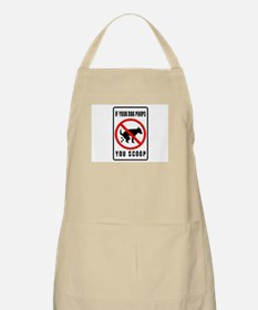 dog poop scoop BBQ Apron