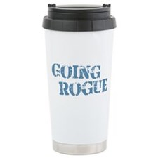 Blue Going Rogue Travel Mug