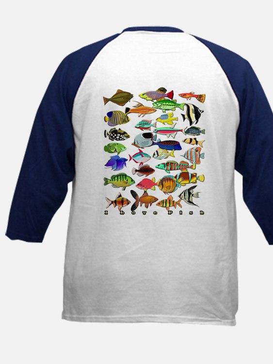 Cute Tropical fish Tee