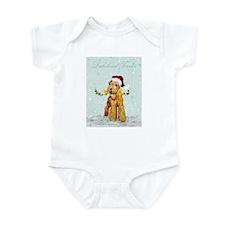 Lakeland Holiday Santa Infant Bodysuit