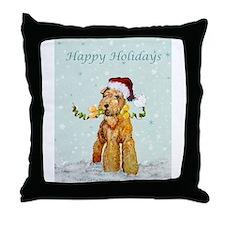 Lakeland Holiday Santa Throw Pillow