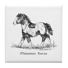 Miniature Horse Tile Coaster