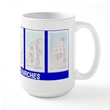 ARMENIAN CHURCHES Mug(blue)