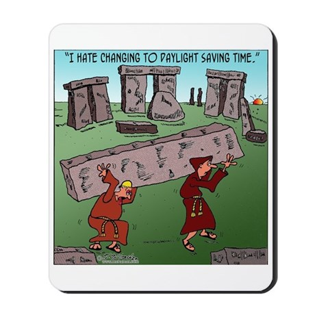 Changing TO DST Mousepad