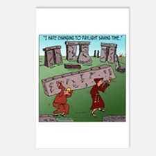 Changing TO DST Postcards (Package of 8)
