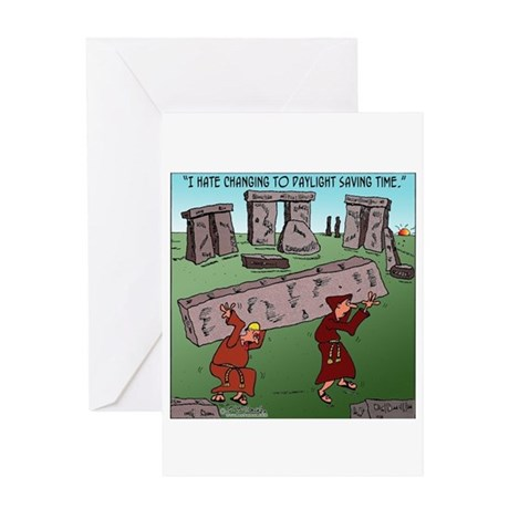 Changing TO DST Greeting Card