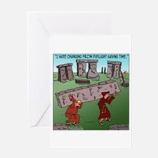Changing FROM DST Greeting Card