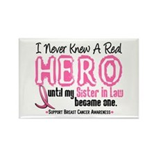 Never Knew A Hero 4 PINK (Sister-In-Law) Rectangle