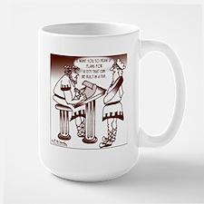 Ancient Roman Urban Planning Large Mug