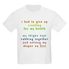 Diaper on Fire T-Shirt