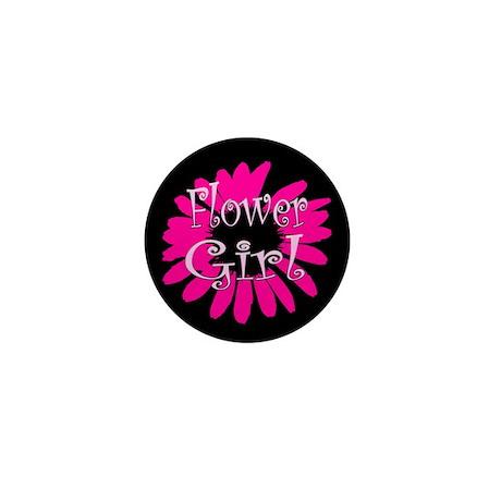 Flower Girl Mini Button (100 pack)