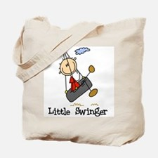 Little Swinger (boy) Tote Bag
