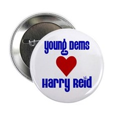 Young Dems Love Reid Button
